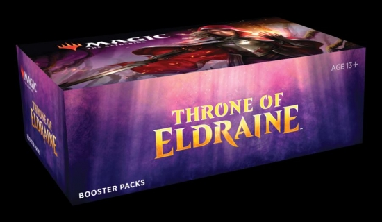 Throne of Eldraine Booster Display en.