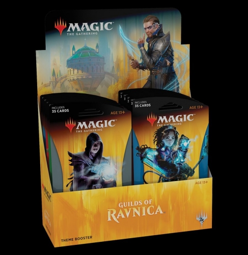 Guilds of Ravnica Theme Booster Display en.