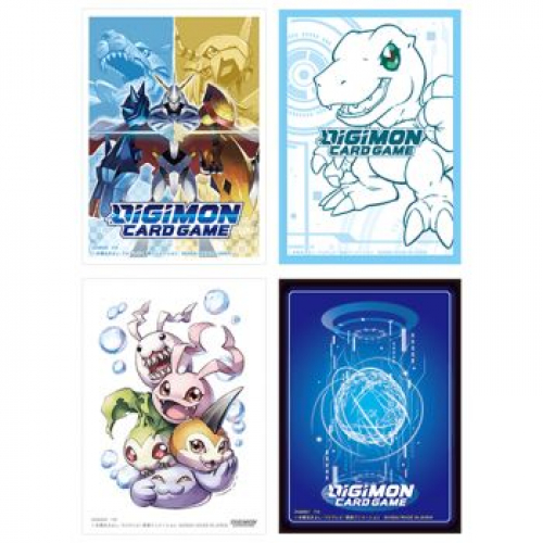 Digimon Card Game - Official Sleeves Display (12 Pieces)
