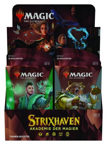 Strixhaven: School of Mages Theme Booster (10 Packs) Display DE