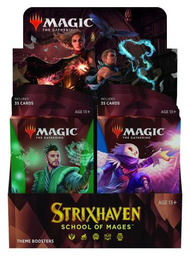 Strixhaven: School of Mages Theme Booster Display (10 Packs) EN