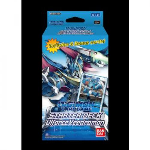 Digimon Card Game - Starter Deck Display UlforceVeedramon ST-8 (6 Decks) - EN