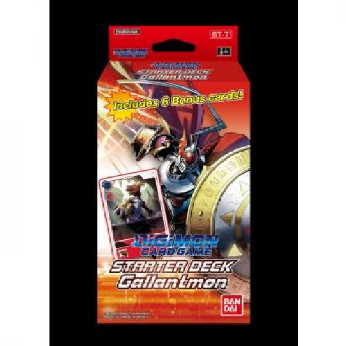 Digimon Card Game - Starter Deck Display Gallantmon ST-7 (6 Decks) - EN